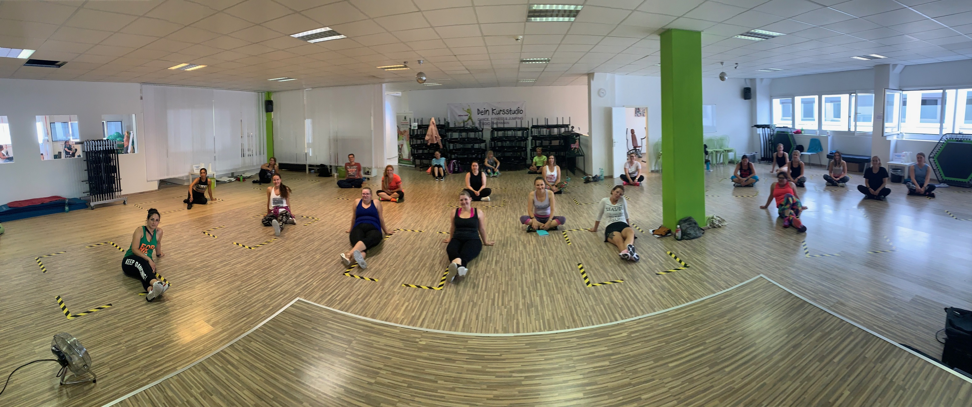 Zumba® Instructor Gruppenfoto in Heusenstamm am 22.08.2020